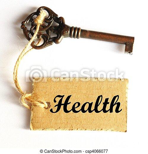 La clave de la salud - csp4066077