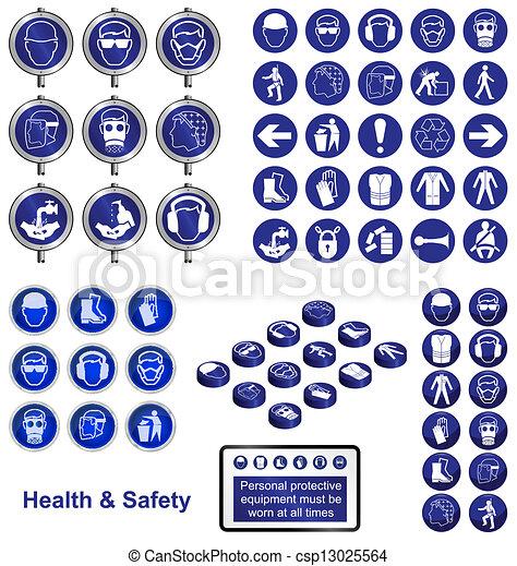 Salud y seguridad - csp13025564