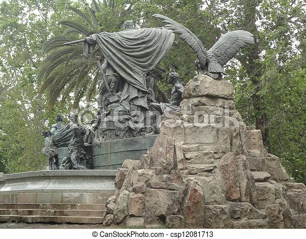 Santiago Chile - csp12081713