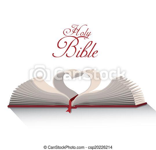 Santo diseño de la Biblia - csp20226214