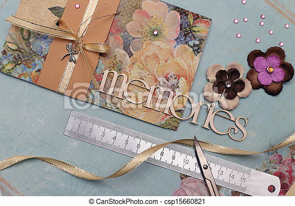 Libros de recortes - csp15660821
