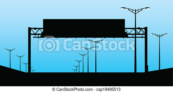 Señal de carretera - csp19495513