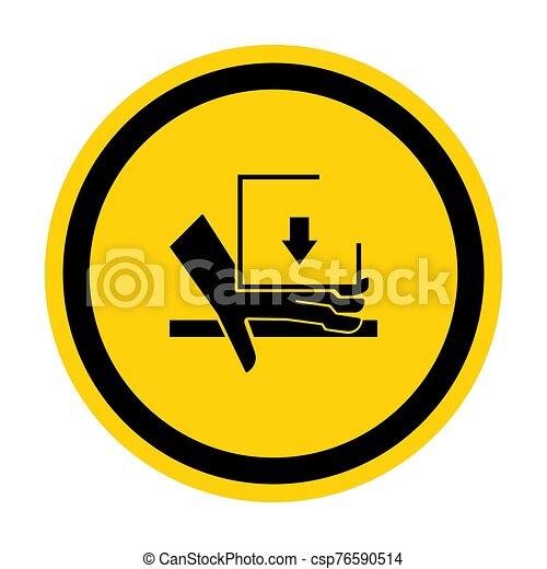 señal, símbolo, aglomeración, ilustración, sobre, aislar, vector, mano, plano de fondo, fuerza, blanco - csp76590514