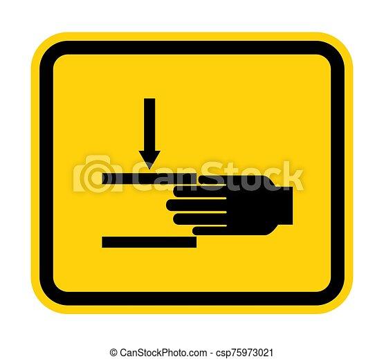 señal, símbolo, aglomeración, ilustración, sobre, aislar, vector, mano, plano de fondo, fuerza, blanco - csp75973021