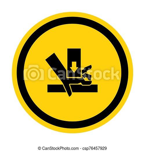 señal, símbolo, aglomeración, ilustración, sobre, aislar, vector, mano, plano de fondo, fuerza, blanco - csp76457929