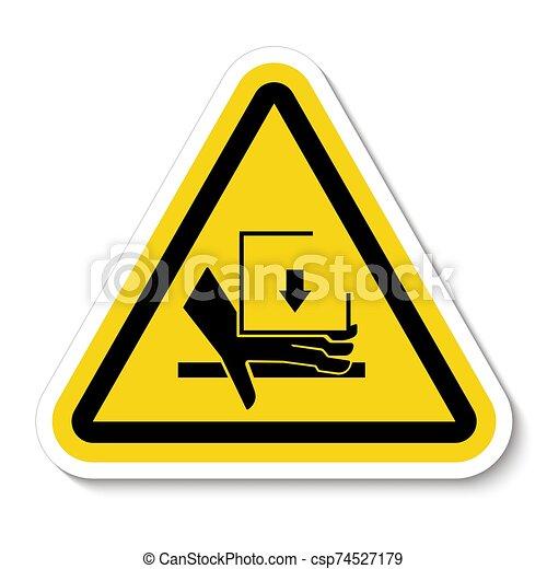 señal, símbolo, aglomeración, ilustración, sobre, aislar, vector, mano, plano de fondo, fuerza, blanco - csp74527179