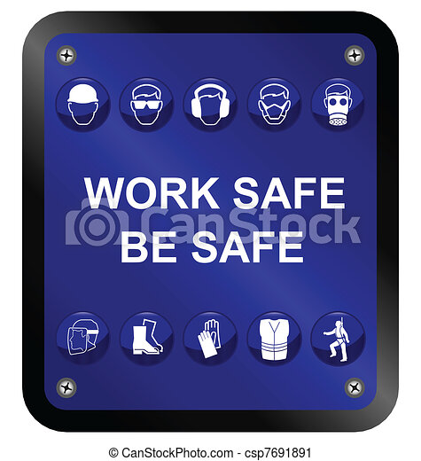 Signo de salud y seguridad - csp7691891