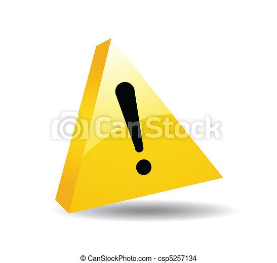Vector de señales de seguridad - csp5257134