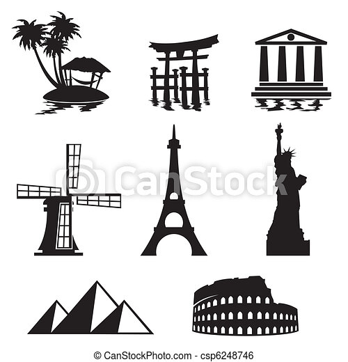 íconos de marcas - csp6248746