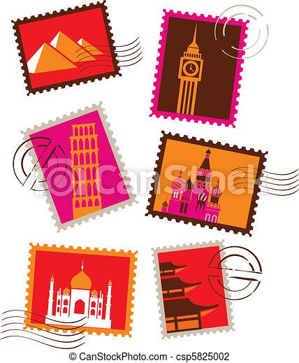 Marcas de sellos - csp5825002