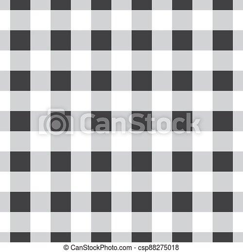 seamless, vector, tartán, patrón, a cuadros - csp88275018