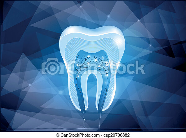 Diseño de sección de dientes cruzados - csp20706882