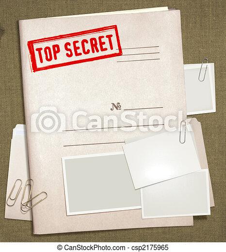 Doble secreto - csp2175965