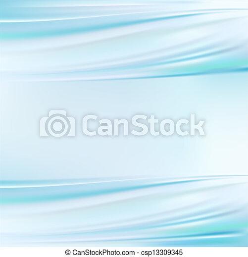 De seda azul - csp13309345