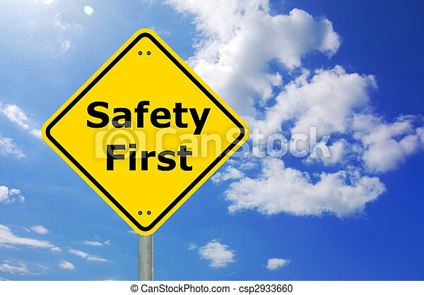La seguridad primero - csp2933660