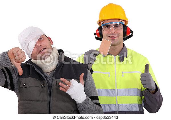 La seguridad primero - csp8533443