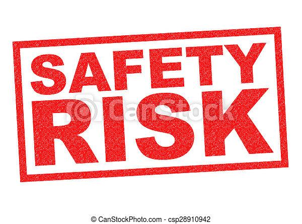 Un riesgo de seguridad - csp28910942