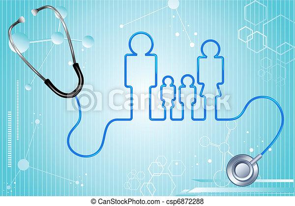 Seguro de salud familiar - csp6872288