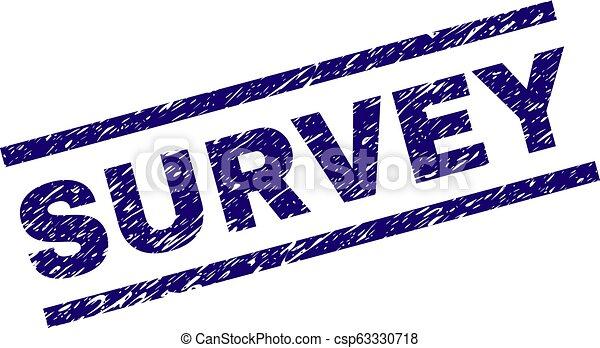 Sello de sello de sello de sello de sello de SURVEY - csp63330718