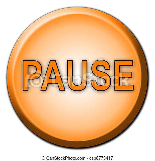Un botón de pausa separado - csp8773417