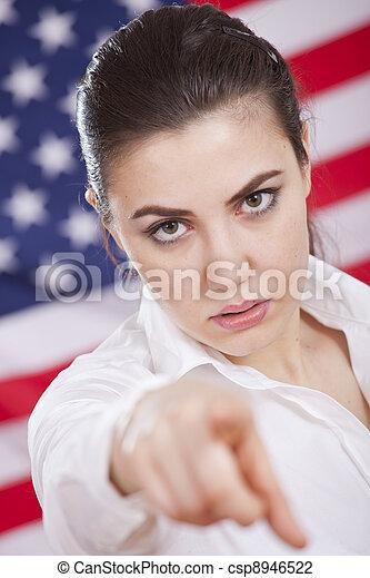 Política americana seria - csp8946522