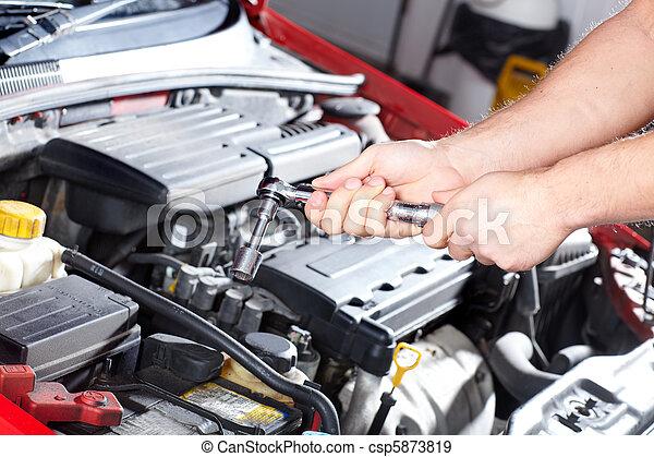Servicio automático - csp5873819