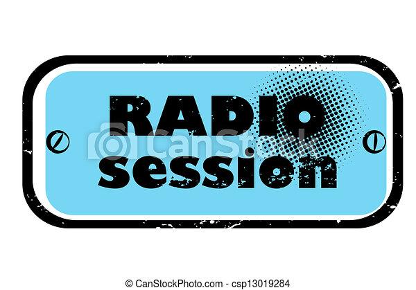 Sesión de radio - csp13019284