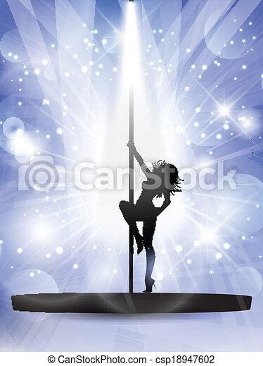 Bailarín sexy - csp18947602