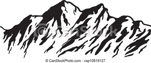 Alcance de montaña - csp10819127