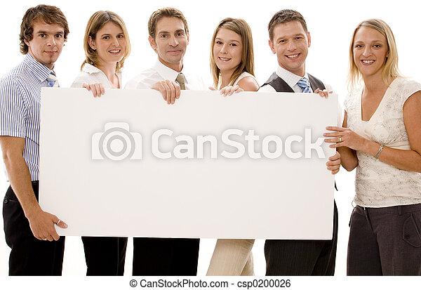 Signo de negocios - csp0200026