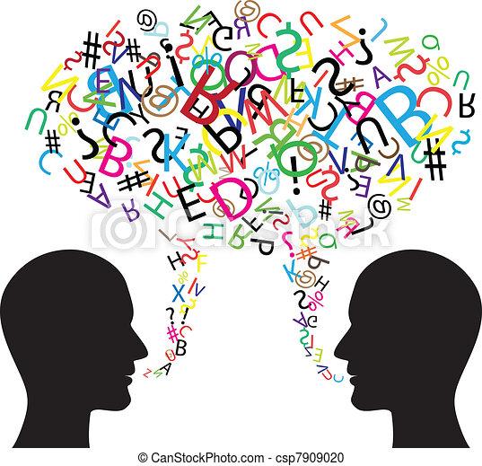 Simbolo de comunicación - csp7909020