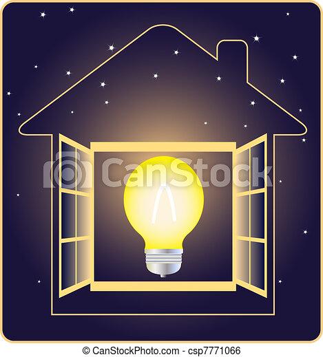 Simbolo de electricidad - csp7771066