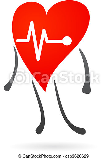 Simbolo de salud del hogar - csp3620629