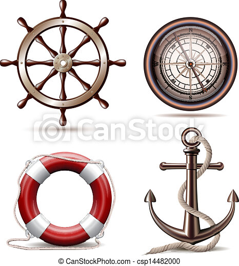 Simbolos marinos - csp14482000