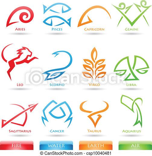 Simplistas signos zodiacos - csp10040481