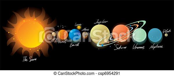 Sistema solar - csp6954291