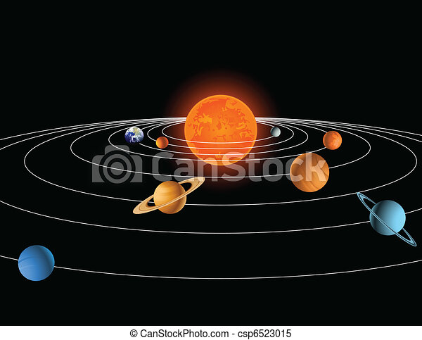 Sistema solar - csp6523015