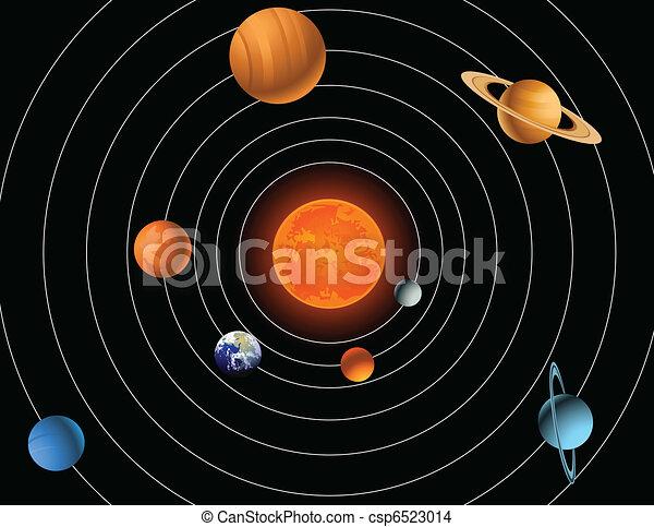 Sistema solar - csp6523014