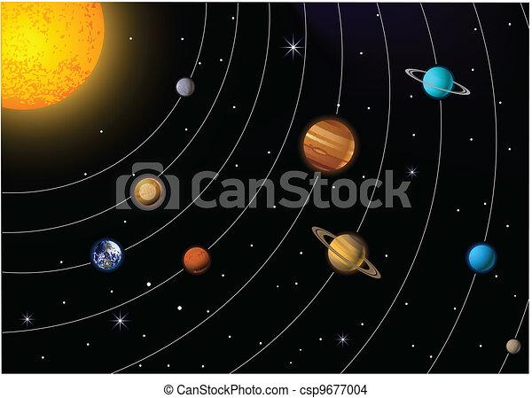 Sistema solar - csp9677004