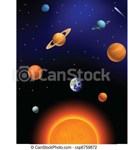 Sistema solar - csp6759872