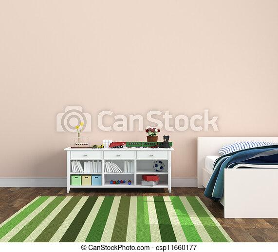 La sala de juegos de los niños - csp11660177
