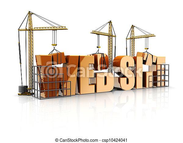 Un sitio Web - csp10424041