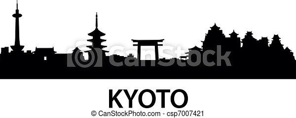 Skyline kyoto - csp7007421