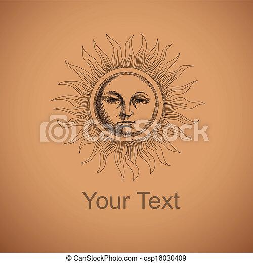 Dibujando el sol - csp18030409