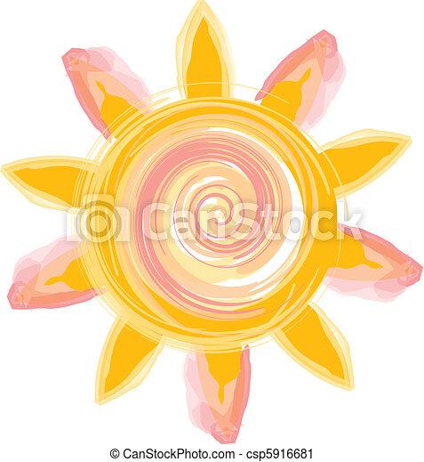 Un icono solar - csp5916681