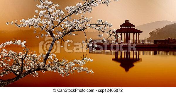 SUN MOON LAKE, taiwan - csp12465872