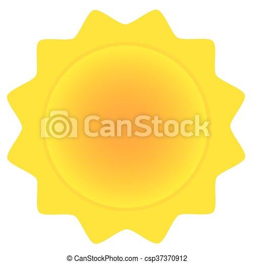 Sol abstracto - csp37370912