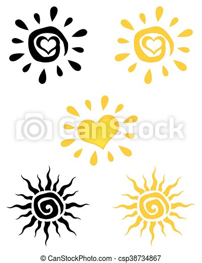 Coleccion solar abstracta - csp38734867
