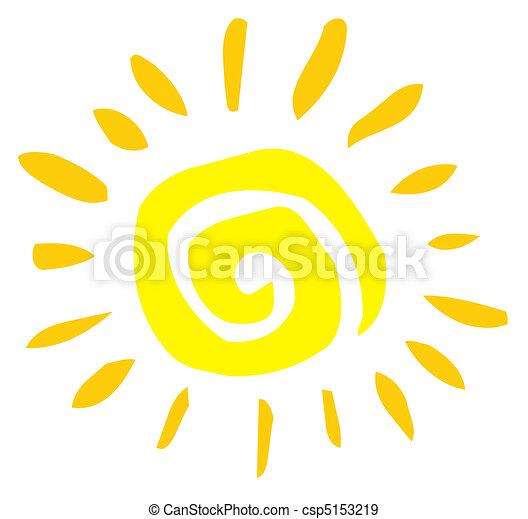 Sol abstracto - csp5153219