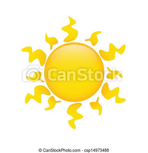 Sol absoluto - csp14973488